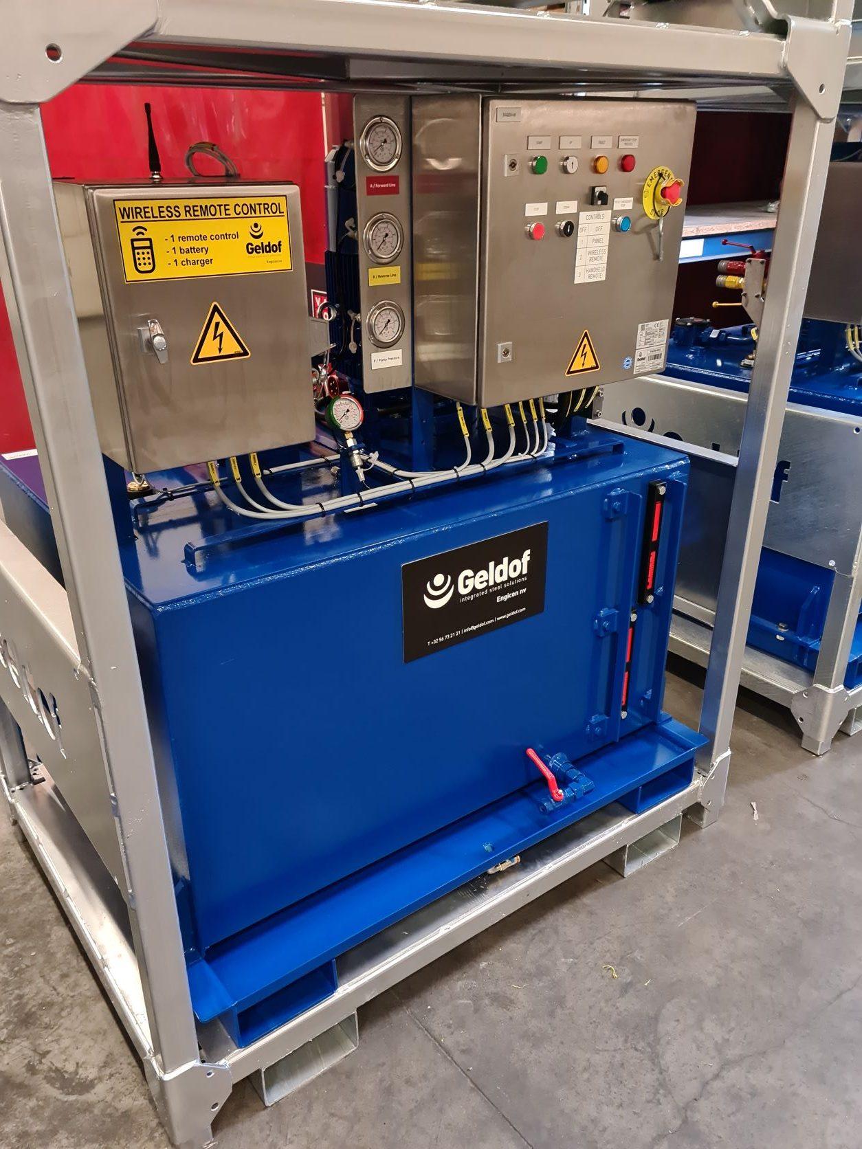 Mobile hydraulic powerpack